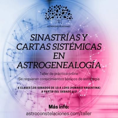 Sinastrías y cartas sistémicas en astrogenealogía